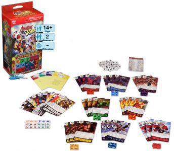Autres petits jeux Dice masters - Avengers vs X-men - Marvel - starter set pour 2 joueurs