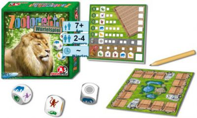 Autres petits jeux Zooloretto - Le jeu de dés