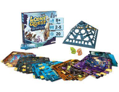 Autres jeux de plateau Jeux de Plateau Loony Quest - The Lost City