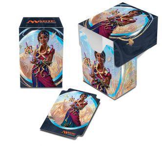 Boites de rangement illustrées Accessoires Pour Cartes Deck Box Ultra Pro - Kaladesh - Saheeli Rai - ACC