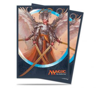 Protèges Cartes illustrées  Kaladesh - 80 Pochettes - Angel Of Invention
