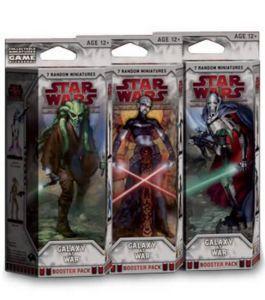 Star Wars Miniatures - Galaxy at War Booster Star Wars Miniatures - Galaxy At War