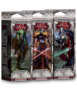 Star Wars Miniatures - Galaxy at War Star Wars Miniatures Booster Star Wars Miniatures - Galaxy At War