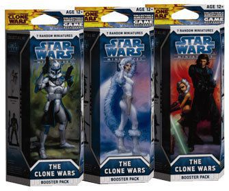 Star Wars Miniatures - The Clone Wars Star Wars Miniatures Booster Star Wars Miniatures - The Clone Wars