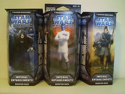 Star Wars Miniatures - Imperial Entanglements Star Wars Miniatures Booster Star Wars Miniatures - Imperial Entanglements