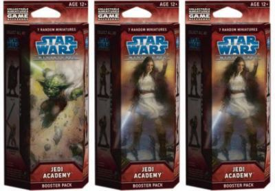 Star Wars Miniatures - Jedi Academy Star Wars Miniatures Booster Star Wars Miniatures - Jedi Academy