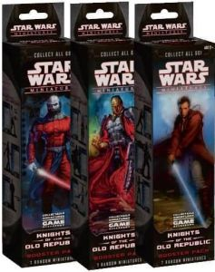 Star Wars Miniatures - Knights of the Old Republic Booster Star Wars Miniatures - Knights of the Old Republic