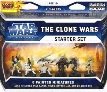 Star Wars Miniatures - The Clone Wars Star Wars Miniatures Starter Set Star Wars Miniatures - The Clone Wars