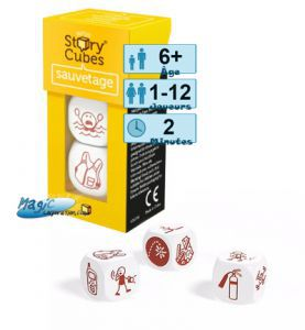 Autres petits jeux Story Cubes Sauvetage