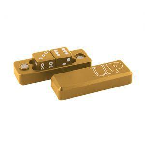 Dés Ultra Pro - Gravity Dice Dé 6 Faces - Or / Gold - 2 Dice Set - ACC