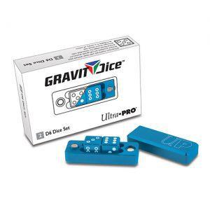 Dés et compteurs Accessoires Pour Cartes Ultra Pro - Gravity Dice Dé 6 Faces - Bleu - 2 Dice Set - ACC