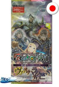 Boosters Force of Will Force of Will The Shaft Of Light Of Valhalla - Booster - Force Of Will - (EN JAPONAIS)