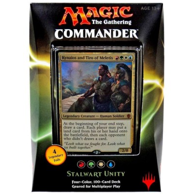 Decks d'Evénement & Commander & Duel Decks Magic the Gathering 2016 - Kynaios - Stalwart unity