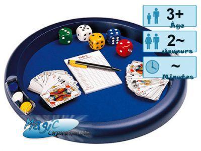 Jeux de cartes Petits Jeux Piste Multi-Jeux