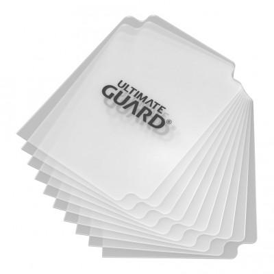 Boites de Rangements Accessoires Pour Cartes Deck Dividers Ultimate Guard - 10 Séparateurs De Cartes - Clear - Acc