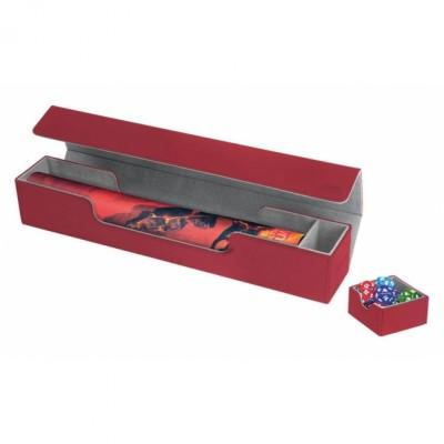 Tapis de Jeu Accessoires Pour Cartes Deck Box Ultimate Guard - Flip'n'tray Play Mat Xenoskin - Rouge - Acc