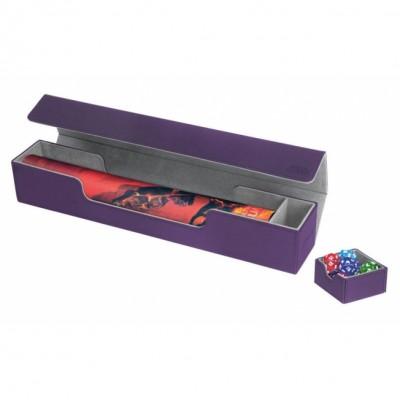 Tapis de Jeu Accessoires Pour Cartes Deck Box Ultimate Guard - Flip'n'tray Play Mat Xenoskin - Violet - Acc