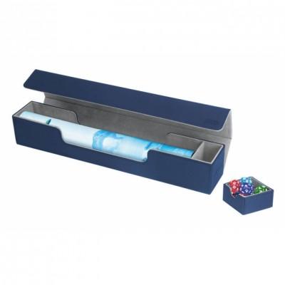 Tapis de Jeu Accessoires Pour Cartes Deck Box Ultimate Guard - Flip'n'tray Play Mat Xenoskin - Bleu