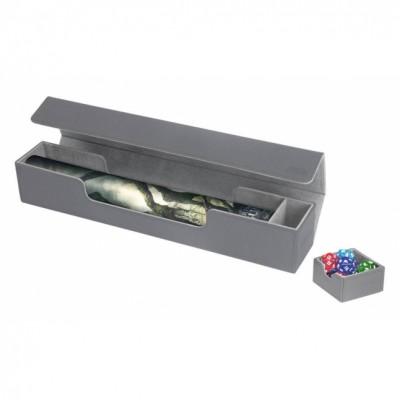 Tapis de Jeu Accessoires Pour Cartes Deck Box Ultimate Guard - Flip'n'tray Play Mat Xenoskin - Gris