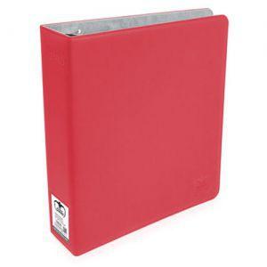 Classeurs et Portfolios Accessoires Pour Cartes Collector Supreme - 3 Anneaux Xenoskin - Rouge
