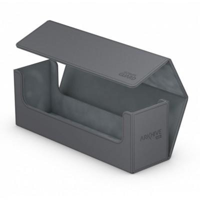 Boites de Rangements Accessoires Pour Cartes Deck Box - ArkHive Flip Case XenoSkin 400 - Gris