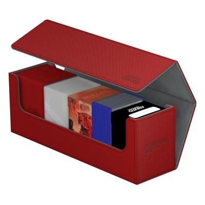 Boites de Rangements Accessoires Pour Cartes Arkhive Flip Case - Xenoskin 400+ - Rouge