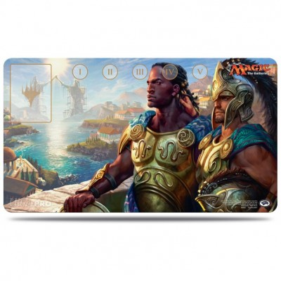 Tapis de Jeu Magic the Gathering Commander 2016 - Playmat - Kynaios et Tiro de Mélétis