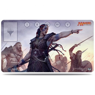 Tapis de Jeu Magic the Gathering Commander 2016 - Playmat - Saskia l'inflexible