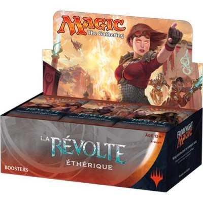 Boites de Boosters Magic the Gathering La Révolte Ethérique - Boite de 36 boosters