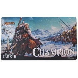 Tapis de Jeu Magic the Gathering Tapis De Jeu - Playmat Promo - Game Day Champion - Khans Of Tarkir - ACC