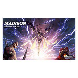 Tapis de Jeu Magic the Gathering Playmat Promo - Grand Prix - Madison 2015