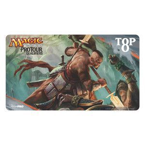 Tapis de Jeu Magic the Gathering Playmat Promo - Ptq Top8 - Dragons Of Tarkir