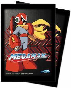 Protèges Cartes illustrées Accessoires Pour Cartes 50 Pochettes Ultra Pro - Megaman - Protoman - ACC