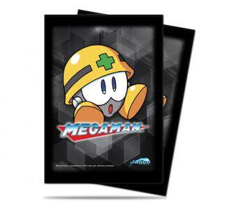 Protèges Cartes illustrées Accessoires Pour Cartes 50 Pochettes Ultra Pro - Megaman - Met