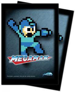 Protèges Cartes illustrées Accessoires Pour Cartes 50 Pochettes Ultra Pro - Megaman - 8 Bit - ACC