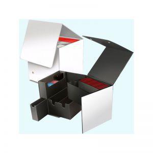 Boites de Rangements Accessoires Pour Cartes Deck Box Ultra Pro - Cube - White Artist Series