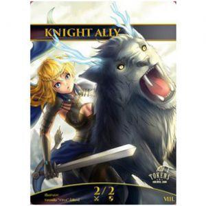 Tokens Magic Accessoires Pour Cartes Token/jeton foil - Knight Ally