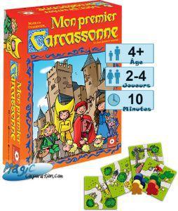 Carcassonne Jeux de Plateau Mon Premier Carcassonne