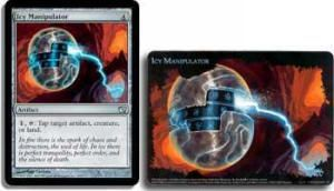 Grande Carte Oversized Magic the Gathering Oversized Box Toppers - Icy Manipulator
