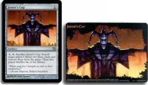 Grande Carte Oversized Magic the Gathering Oversized Box Toppers - Jester's Cap