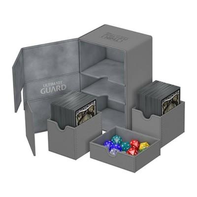 Boites de Rangements Accessoires Pour Cartes Deck Box Ultimate Guard - Double 160 - Gris - T3+ - Acc