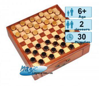 Autres jeux de plateau Jeux de Plateau Jeux de Dames  - Magnet
