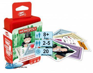 Incontournables Petits Jeux Jeux de voyage - Shuffle - Monopoly Deal