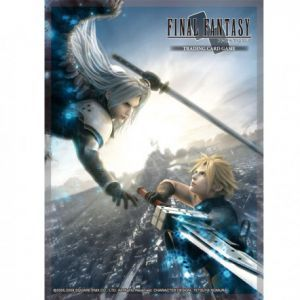 Protèges Cartes illustrées Accessoires Pour Cartes 60 Protèges Cartes Square Enix - Final Fantasy - Advent Children - Acc
