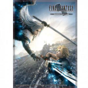 Protèges Cartes illustrées Accessoires Pour Cartes 60 Protèges Cartes Square Enix - Final Fantasy - Advent Children - Acc