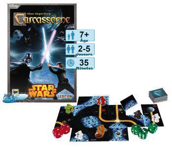 Carcassonne Jeux de Plateau Carcassonne - Star Wars