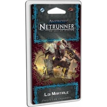 Android Netrunner Autres jeux de cartes Android Netrunner - Le Jeu de cartes -  Loi Martiale - (en Français)