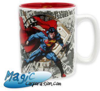 Goodies Accessoires Pour Cartes DC COMICS - Mug/Tasse - 460 ml - Superman & logo