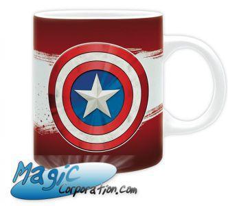 "Goodies Accessoires Pour Cartes MARVEL - Mug/Tasse - 320 ml - ""CA Classic"""