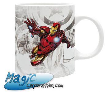 "Goodies Accessoires Pour Cartes MARVEL - Mug/Tasse - 320 ml - ""IRON MAN Classic"""
